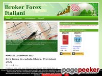 Preview of brokerforexitaliani.blogspot.it
